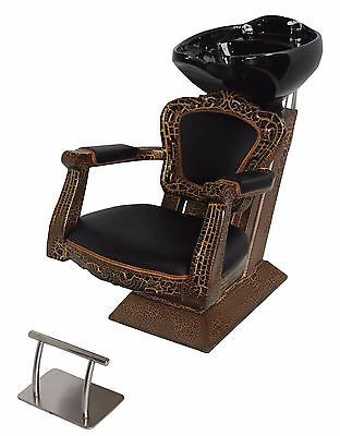Antique backwash shampoo unit salon #hairdressing equipment #furniture new #chair,  View more on the LINK: http://www.zeppy.io/product/gb/2/272530418487/