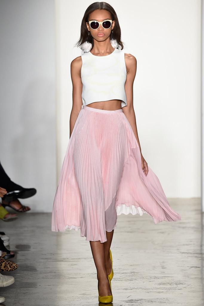 #ranitasobanska #fashion #inspirations Timo Weiland Spring 2015 Ready-to-Wear - Collection - Gallery - Look 1 - Style.com
