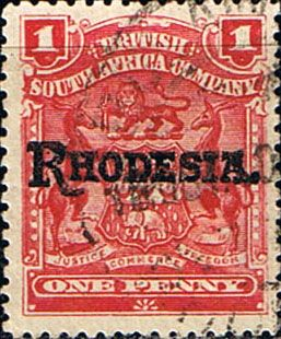 Rhodesia 1909 British South Africa Company Overprint SG 101 Fine Used SG Scott 83 Other Rhodesian Stamps HERE