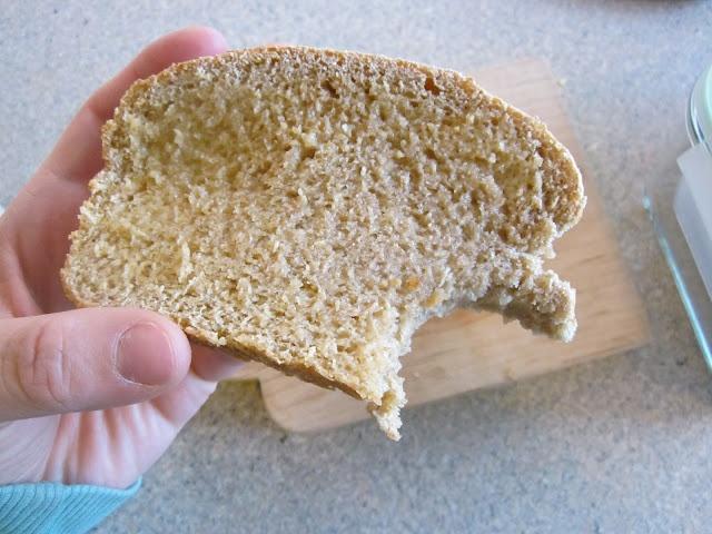 Super Easy Yummy & Moist Whole Wheat Bread (no sugar, no oil, no butter, no dairy)