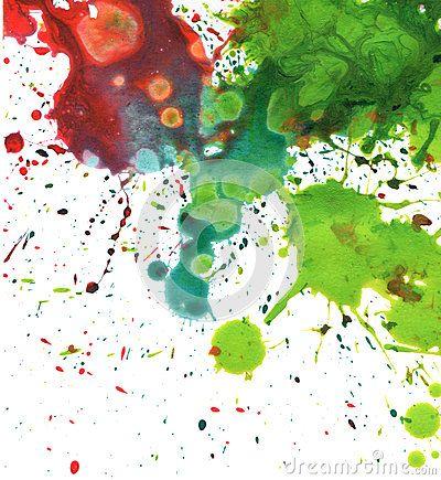 Fond abstrait de tache d aquarelle                                                                                                                                                     Plus