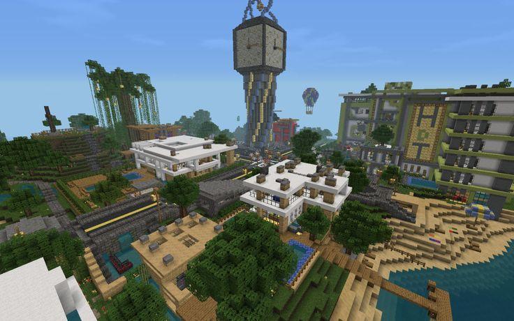 Minecraft Modern City Ideas Google Search Minecraft
