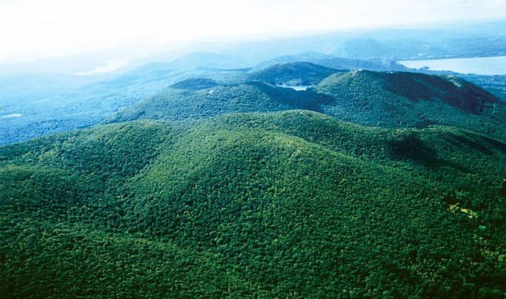 aerial view of Fishkill Ridge.