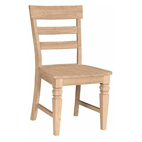 Java Chair With Solid Wood Seat- Set of 2