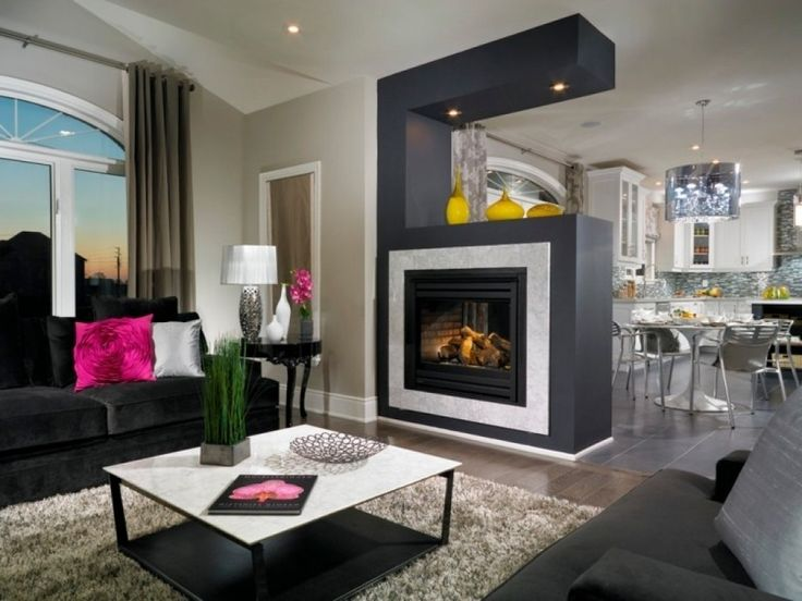 Más de 25 ideas increíbles sobre Holzkamin en Pinterest - moderne wohnzimmer mit kachelofen