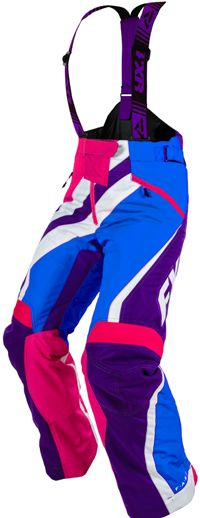 FXR Women's X-SYSTEM PANT (2015). Snowmobile gear.  http://www.upnorthsports.com/snowmobile/snowmobile-clothing/snowmobile-bibs-pants/womens-bibs-pants/fxr-womens-x-system-pant-2015.html