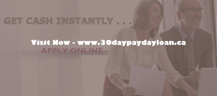 30 day payday loans, help people to makeover bad credit status using online money. Apply now - http://www.30daypaydayloan.ca