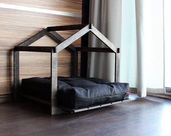 Dog House Skeleton Lounge Modern Dog House Dog Bed Pet Etsy In 2020 Modern Dog Houses Dog House Bed Dog Bed