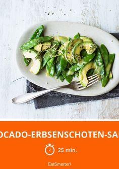 Avocado-Erbsenschoten-Salat   http://eatsmarter.de/rezepte/avocado-erbsenschoten-salat