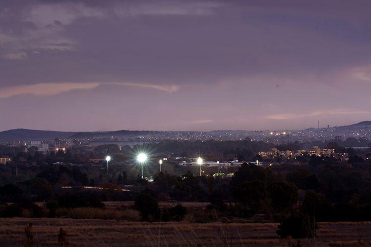 Skemer oor Potchefstroom