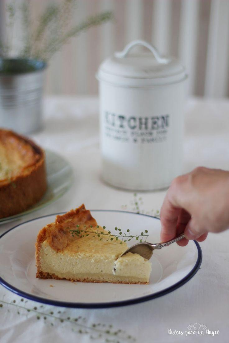 Dulces para un Angel: tarta alemana de queso Quark