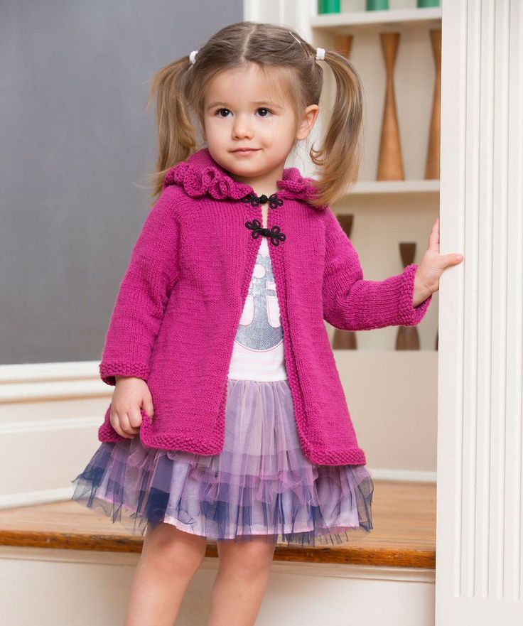 Knitting Pattern For Ruffle Baby Vest : 231 best ideas about Knitted Kids sweaters on Pinterest Free pattern, Baby ...