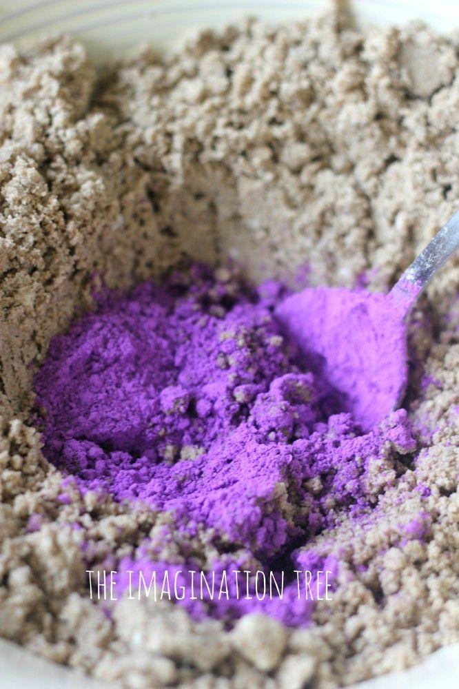 Du sable magique ... art éphémère