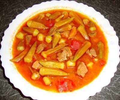La cuisine de mon pays ... la Turquie: Ragout de Gombos