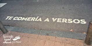 Resultado de imagen de poesia en la calle
