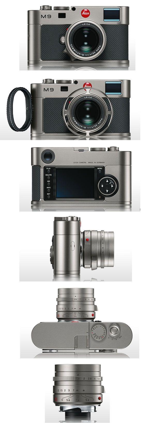 Leica M9 Titanium Edition  designed by Walter de'Silva