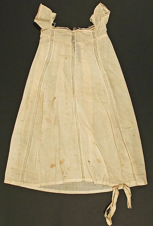Dress Date: early 19th century Culture: American Medium ...