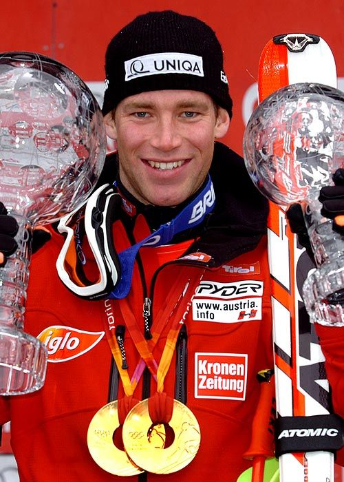 Benjamin Raich is a champion World Cup alpine ski racer and Olympic gold medalist from Austria.  He is considered among the best alpine racers in World Cup history.