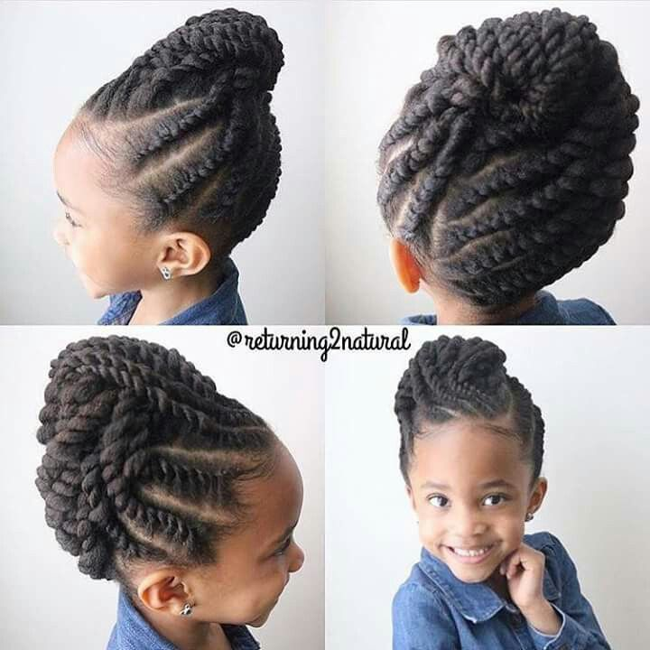 143 best hairstyles for kids images on Pinterest | Peinados ...