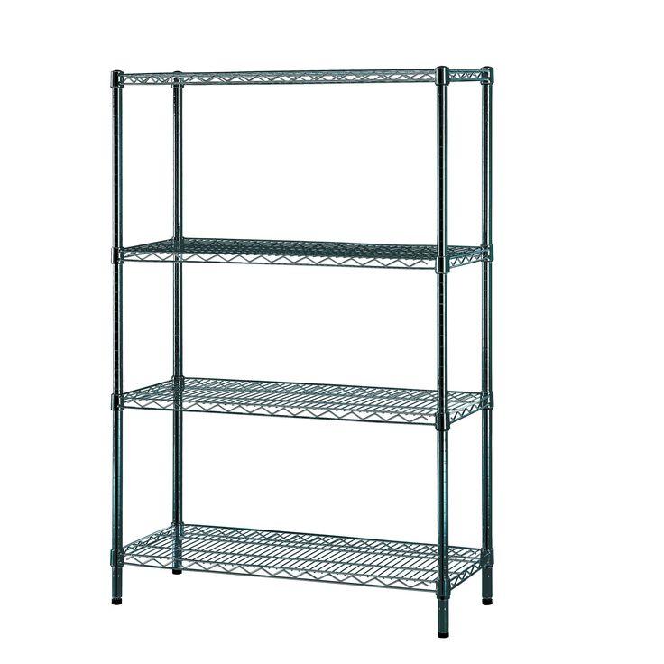 Pantry Storage Shelving Units Small Metal Shelving Unit: Best 10+ Wire Shelving Units Ideas On Pinterest