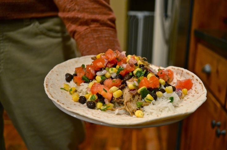 Chipotle copycat for pico de gallo, corn salsa, and rice