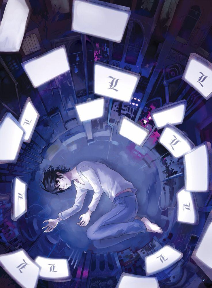 Death Note - L Lawilet fan art