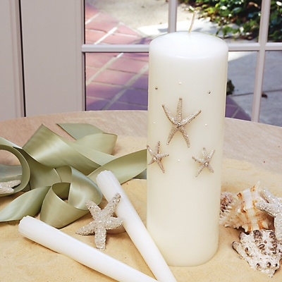 Beach Unity Candles