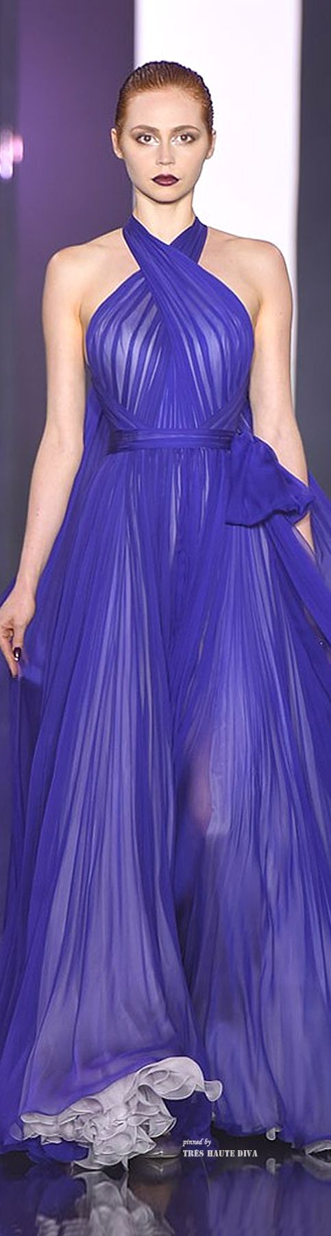 Ralph  Russo Couture Fall/Winter 2014-15. The colour is exquisite.