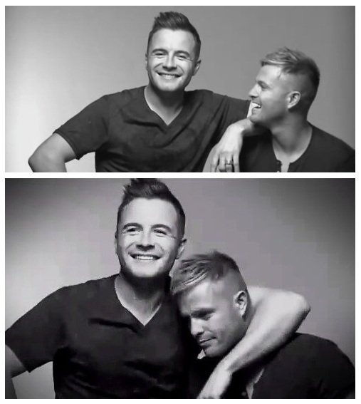 Shane and Nicky.