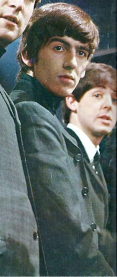 """""""Don't Bother Me"""" written by George can be heard on """"With The Beatles"""" (1963) and """"Meet The Beatles!"""" (1964). It's not the first song written by George. It's his first George song recorded by the Beatles. Earlier there was """"In Spite Of All The Danger"""" (Quarrymen, McCartney/Harrison, 1958) and """"Cry For A Shadow"""" (Beatles, Harrison/Lennon, 1961). On this song there was no cowriter and it's all George. #TheBEatles"""