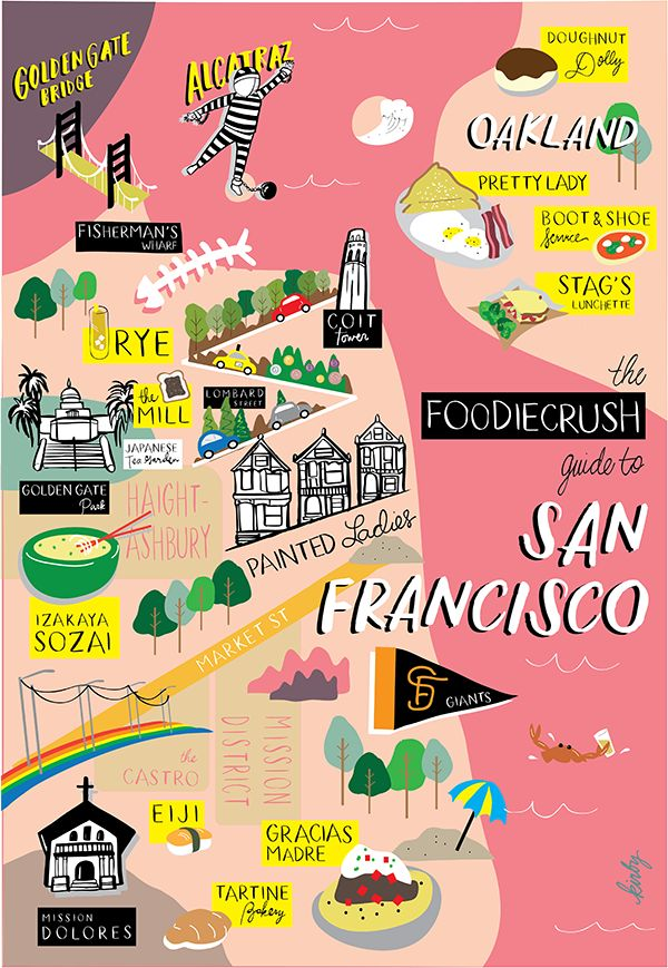 The best places to eat, dine and drink in San Francisco and Oakland, CA according to local food bloggers who are in the know.