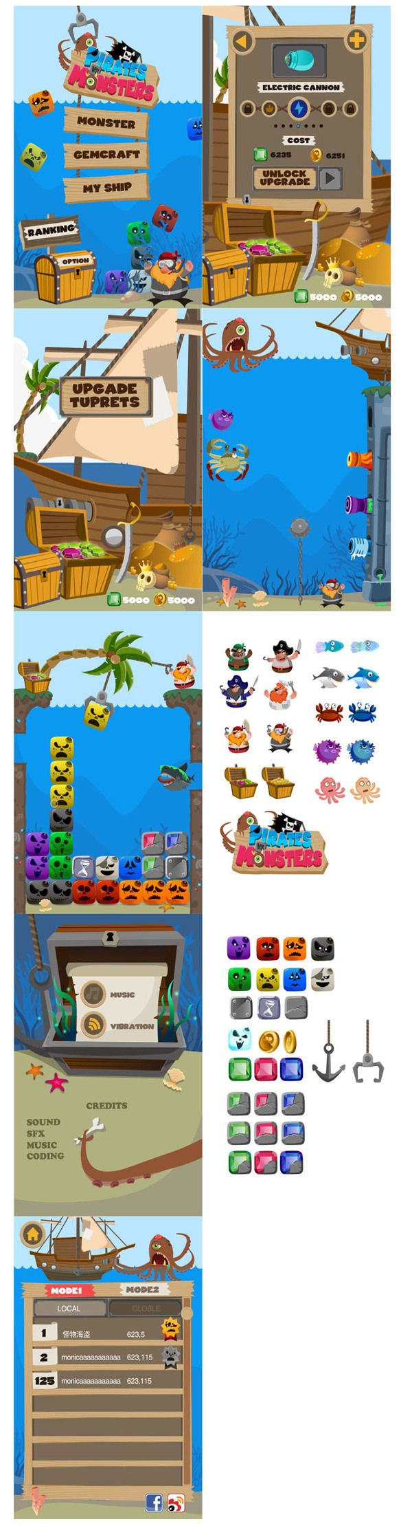 Pirate vs Monster on Behance