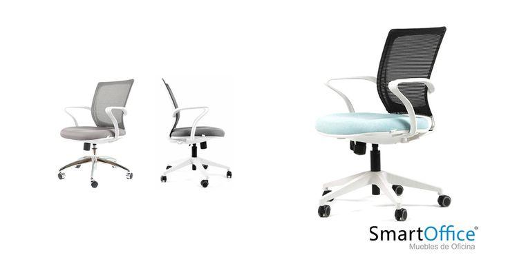 ▪️Silla Studio. ▪️Respaldo de Mesh de doble capa flexible. __________________ #diseño #silla #art🎨