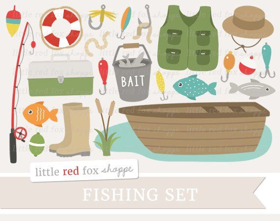 Fishing Clipart Fathers Day Clip Art Fishing Pole Clipart Etsy Fish Clipart Father S Day Clip Art Digital Graphic Design