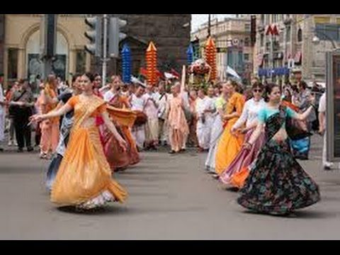 Florence (Hare Krishna dancers) Part 9 - YouTube