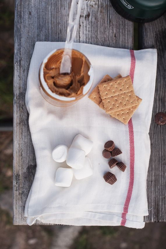 smores. peanut butter ~ graham crackers ~ chocolate ~ marshmallows ~ fire ~ camping ~ bright & beautiful.: S More