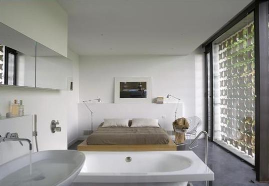 1000 images about master bedroom remodel on pinterest for Master bedroom with open bathroom design
