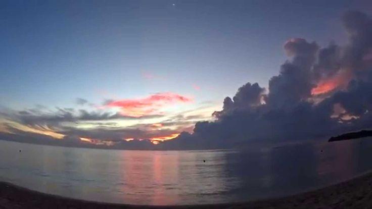 Sunrise from the Nusa Dua beach Vol.2 April 2014