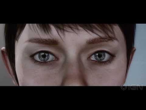 Kara - Heavy Rain's Dev Trailer. It was powerful when I saw it back when it was new, and it still is now.