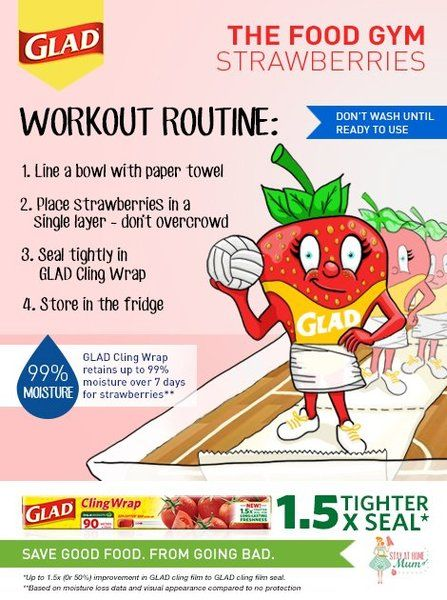 The Food Gym - How to Keep Strawberries Fresh #FoodGym