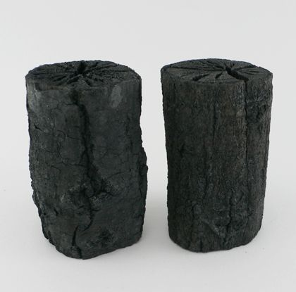 The Coal Air Purifier, by Motley, is a natural air cleaner made from white charcoal. It's used in Japan to absorb odours, pollution and gases from the air without the use of chemicals http://www.ashesandmilk.com/coal-air-purifier/