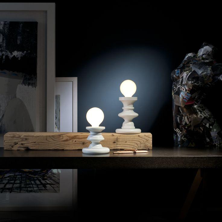 Sforzin Illuminazione - Lampade Da Tavolo RE, REGINA Scacchi