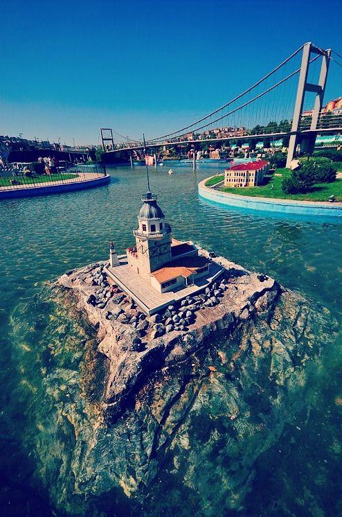 Kız Kulesi - Maiden's Tower #kız #kulesi #maidens #tower #istanbul #mustsee #sea #bridge #bosphorus