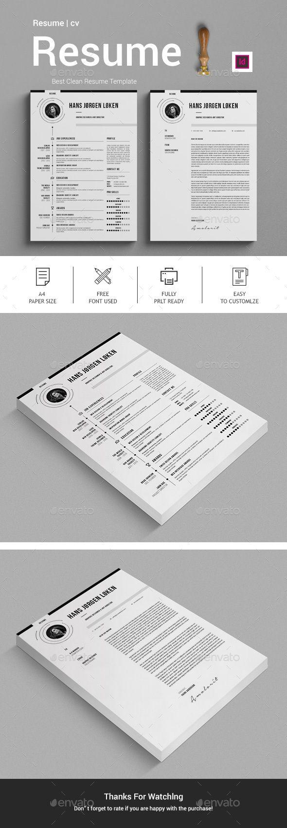 #Resume - Stationery Print Templates