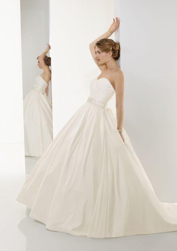 Colorful Taffeta Wedding Gown Sketch - Top Wedding Gowns ...