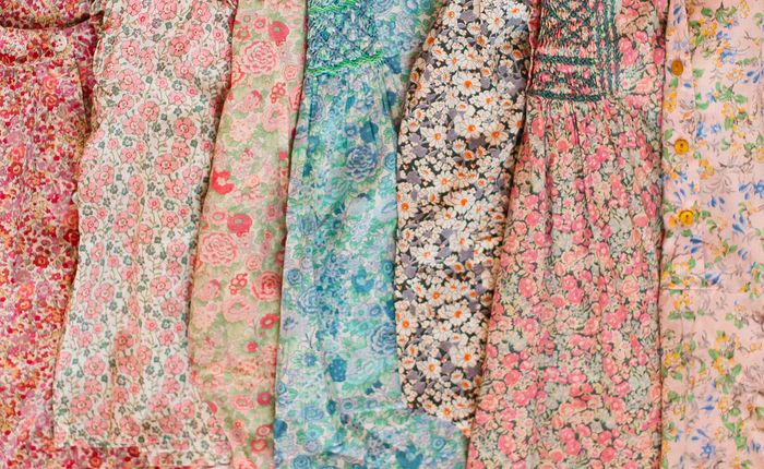 Liberty of London prints from your favorite brands Bonpoint, Bonton and Caramel Baby on Girls on Greenwich.