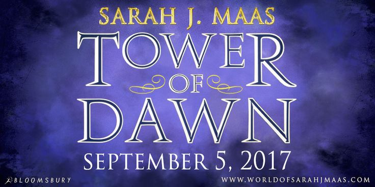 The next Throne of Glass novel from Sarah J. Maas is … . TOWER OF DAWN!!!!!!!!!!!!!!!!!!!!!!!!!!!!!!! This novel about Chaol is on sale September 5, 2017 and available for preorder now!