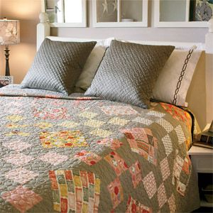 Charming Sassy Simplicity: Quick King Size Bed Quilt Pattern Designed By SARAH  MAXWELL U0026 DOLORES SMITH