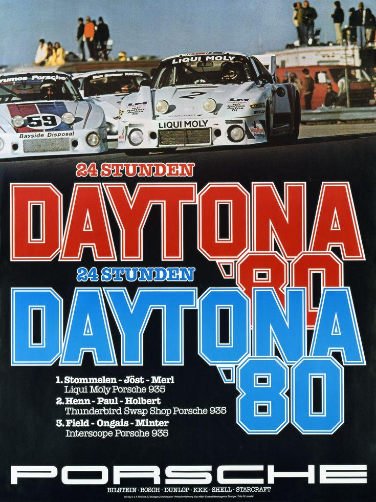 1980 - 24 Hours of Daytona poster