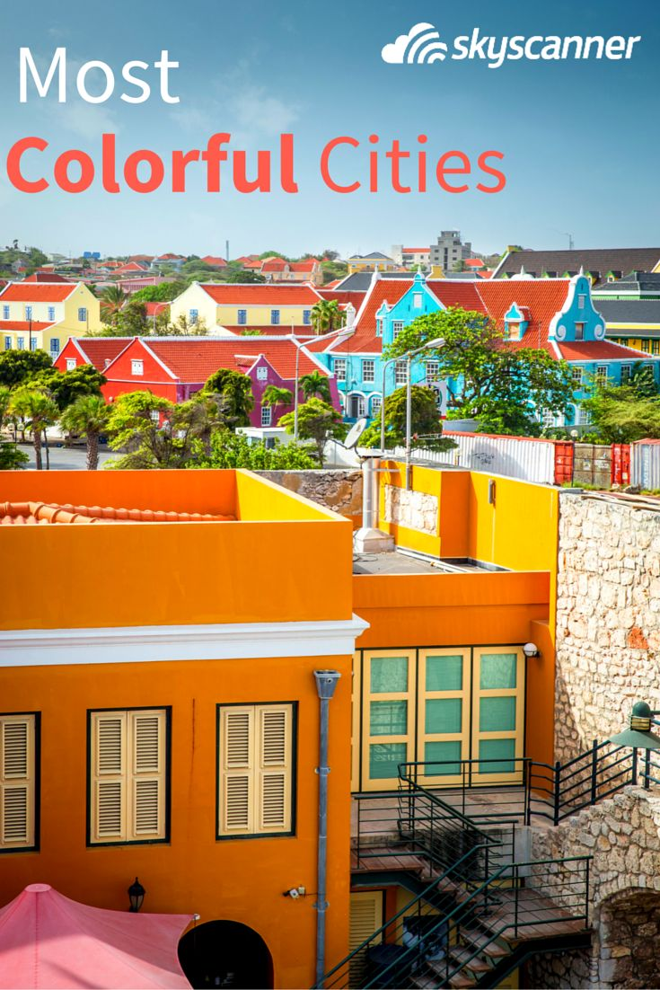 Pack your bags and fall in love with all of the colors around the world.
